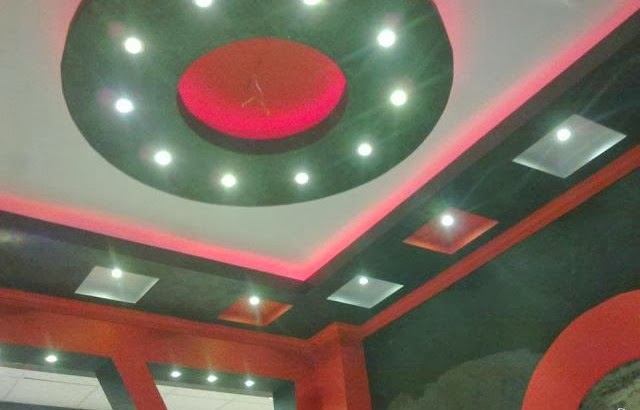 Faux plafond marocain moderne 2014 d coration platre for Decoration platre marocain 2014