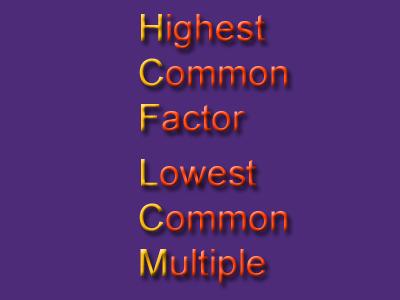 lowest common multiple worksheet
