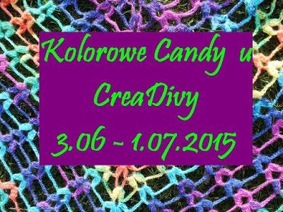 Kolorowe Candy u CreaDivy