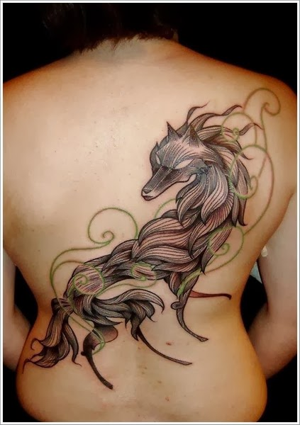The Best Wolf Tattoos (Gallery 1)