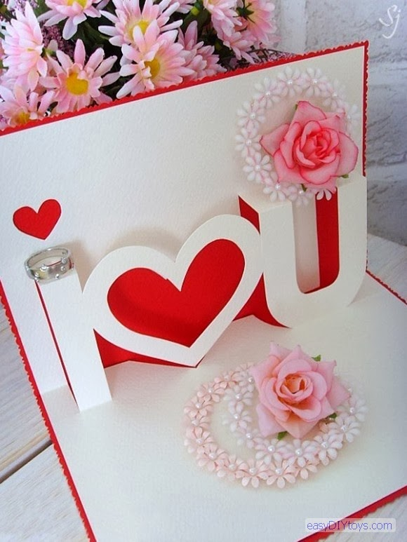 Homemade Valentine Cards – Hand Made Valentine Cards