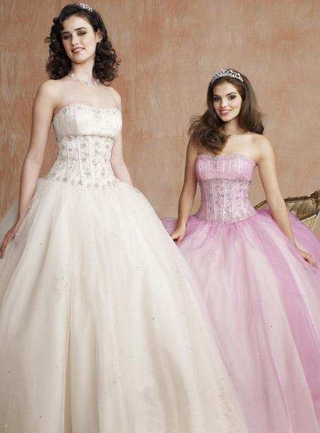 Candy Pink Wedding Dress ZaphonPromcom Style No