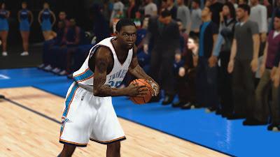 NBA 2K13 DeAndre Liggins Cyberface Patch