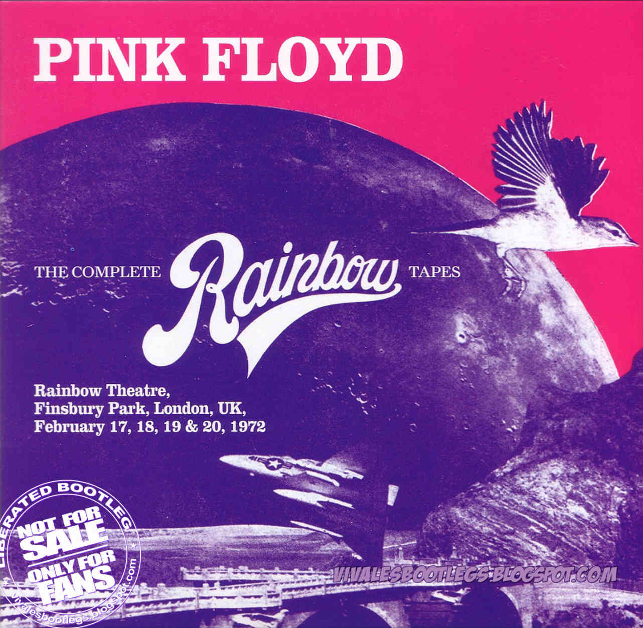 Pink Floyd: The Complete Rainbow Tapes. Finsbury Park, London, England - February 17,18,19 & 20, 1972. (Octuple CD BOXSET :: Mp3 @320 kbps & FLAC)