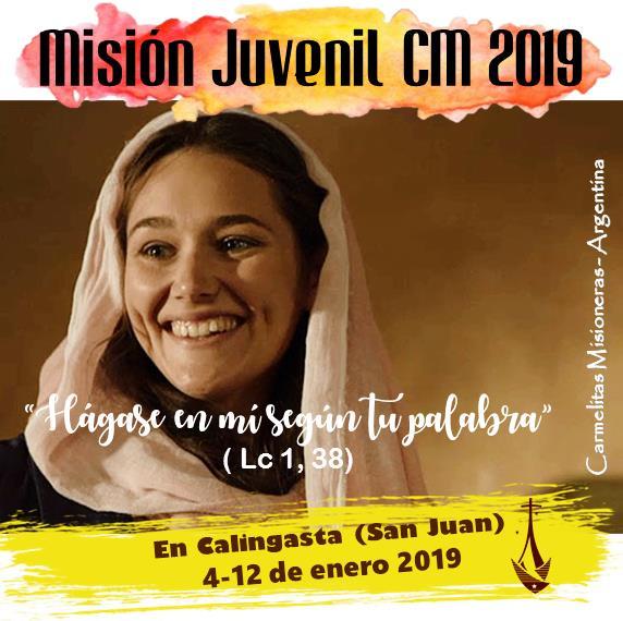 MISIÓN JUVENIL CM 2019