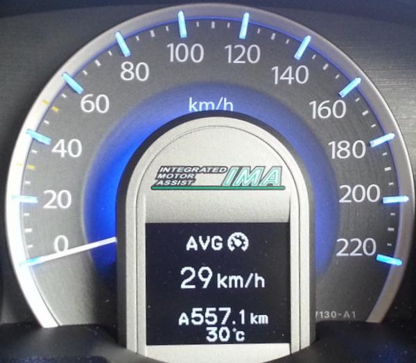 Malaysia Mari Honda Jazz Hybrid 2012 Fuel Consumption