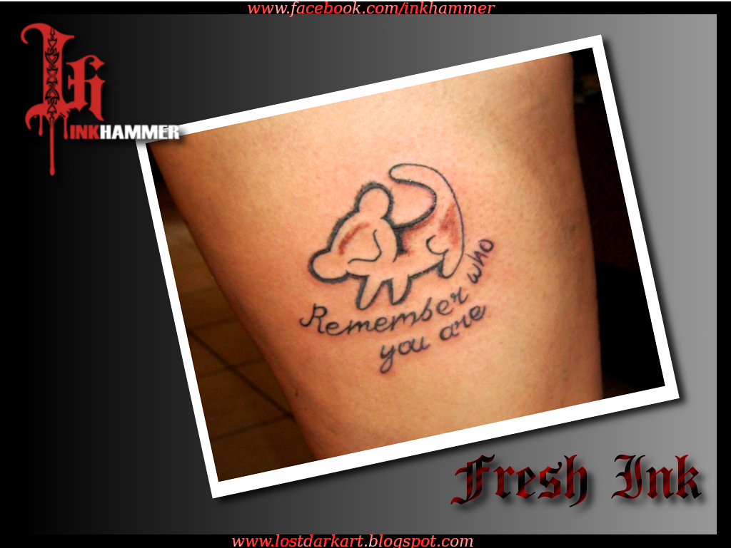 Ink hammer tattoos for Remember who you are tattoo
