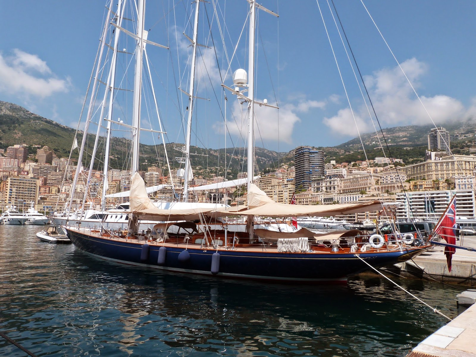 Sailing yacht Alejandra, owned by Ferruccio Fiorucci - www.superyachtfan.com