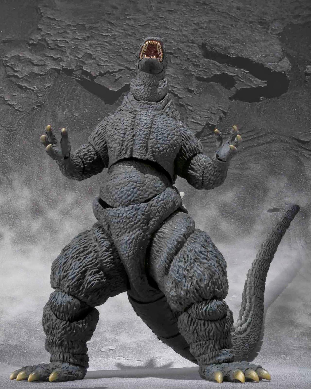 Toy Nippon: NewsFlash: S.H.MonsterArts Godzilla 1995 Birth Godzilla 1995 Birth