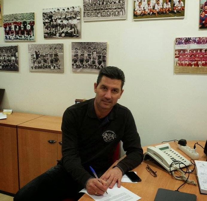 Νέος προπονητής ο Μαρίνος Ουζουνίδης στη Νέα Σμύρνη | Νέοι Ορίζοντες