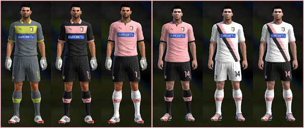PES 2013 Palermo 2012/13 Kits by Nemanja