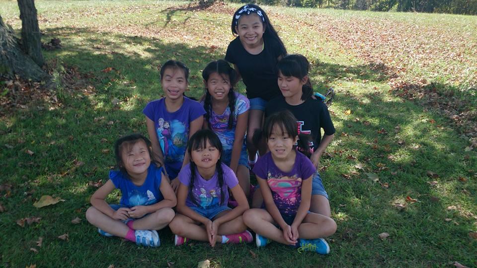 Meimei, Ximi, Nini, Enya, Elli, Erin, Xiaoyun