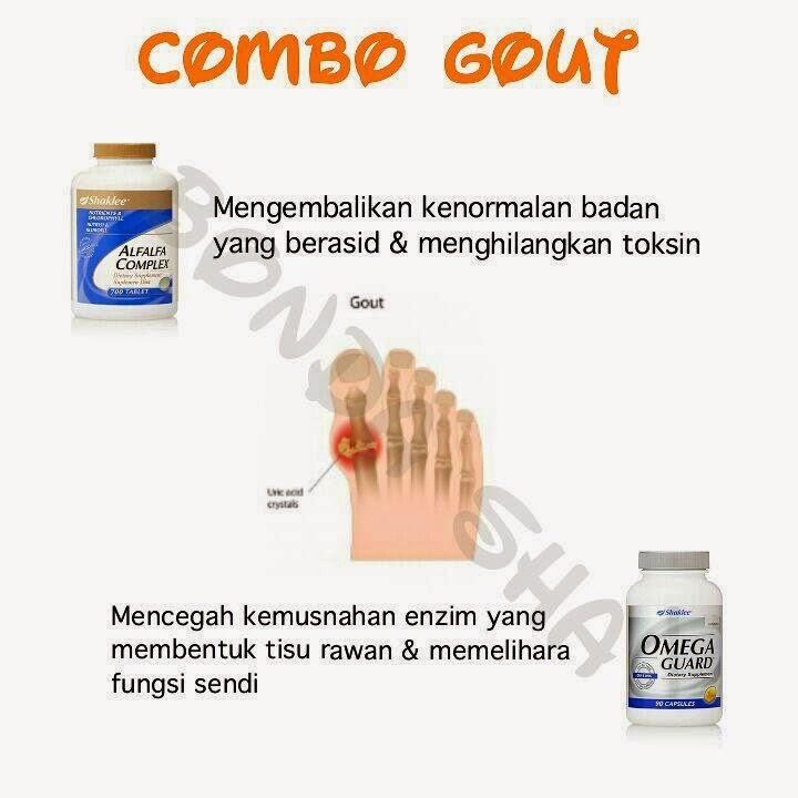 vitamin penyakit gout