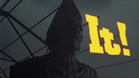 It! (1967) main title featuring the golem