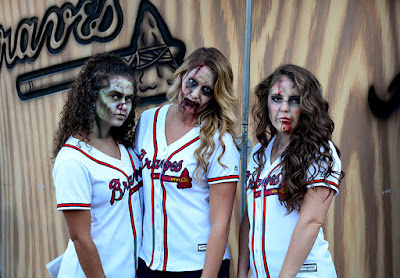 Zombie Night at Turner Field