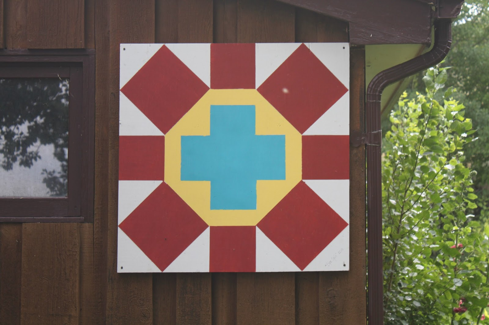 Stitch by stitch barn shed quilt for Garden shed quilting