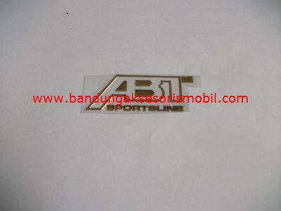 Emblem Alumunium Kecil Gold ABT