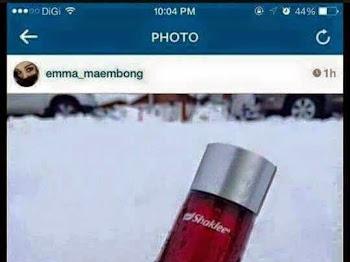 EMMA MAEMBONG TERJEBAK KES MINUM..?