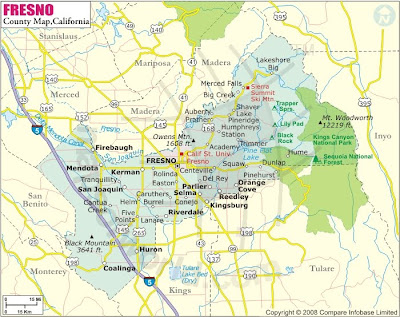 Fresno City Map images 3