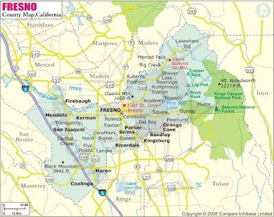 Fresno City Map images 3