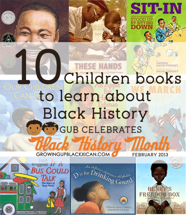 10 children books to learn about Black History