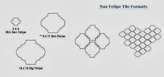Arabesque San Felipe Spanish Paver Handmade Cement Tile