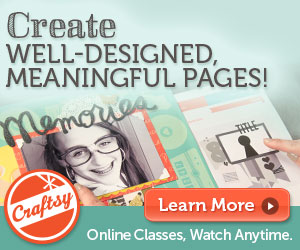 Scrapbook Design & Storytelling Class