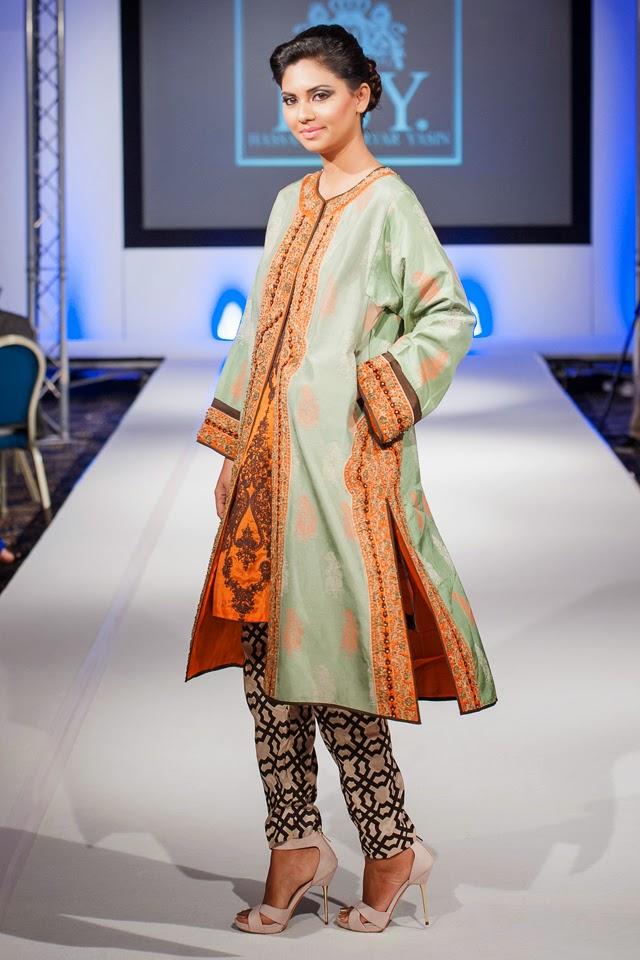 Hsy Show At Pakistan Fashion Extravaganza London 2014 Ooooch