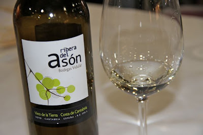 Vino Ribera del Asón en Madrid Fusión 2013