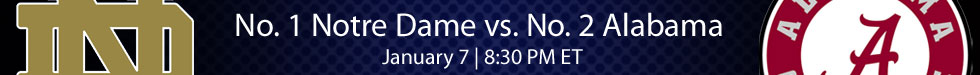 Notre Dame vs Alabama Live Stream