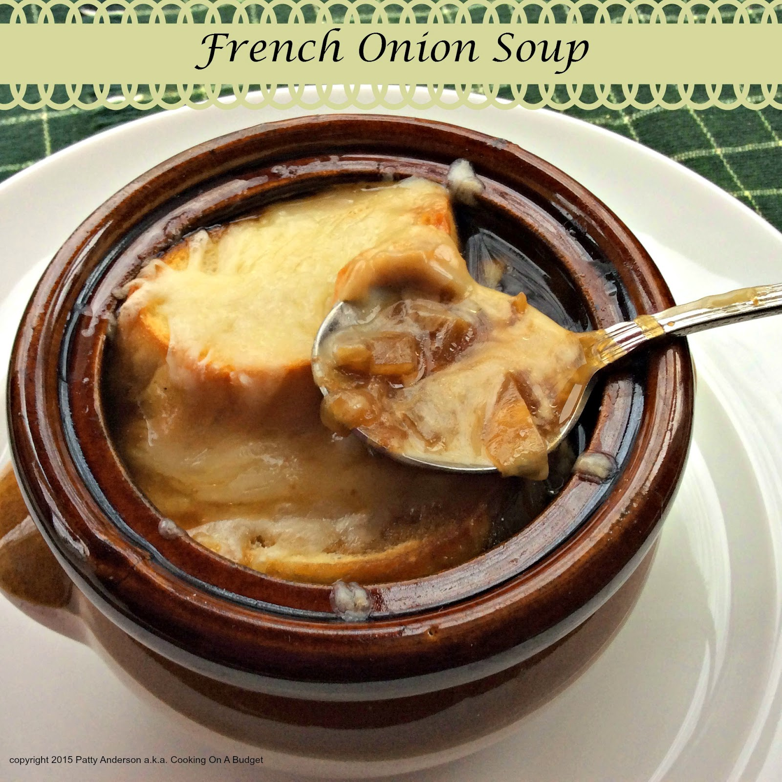 Teardrop Onion Soup (French Onion Soup) Recipe — Dishmaps