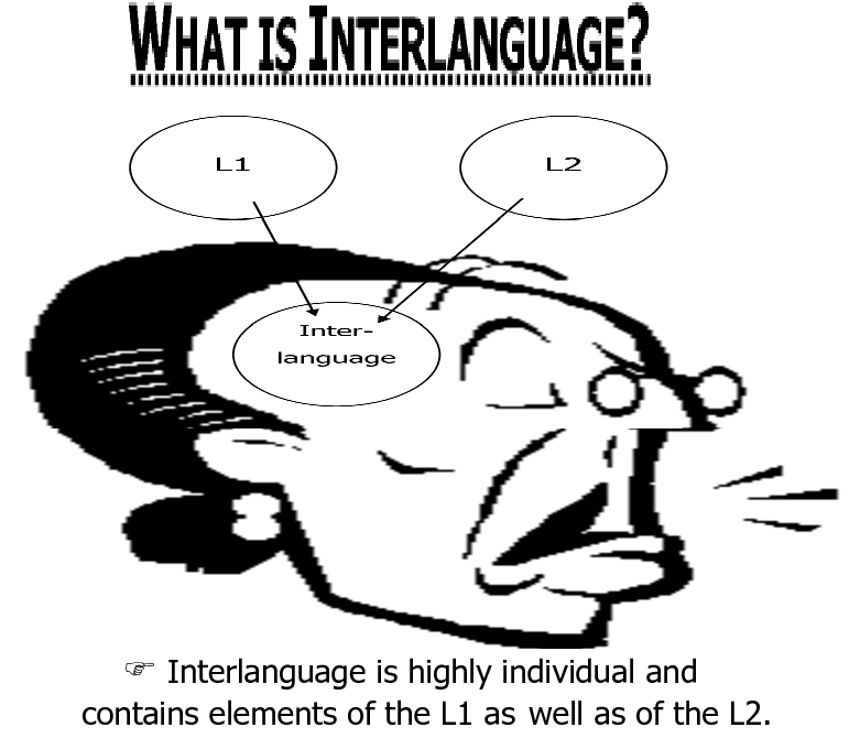 thesis on interlanguage Second language acquisition - mother tongue interlanguage my account preview preview mother tongue interlanguage essay:: 7 works better essays amy.