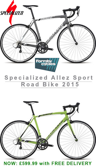 2015 Road Bike: Specialized Allez Sport