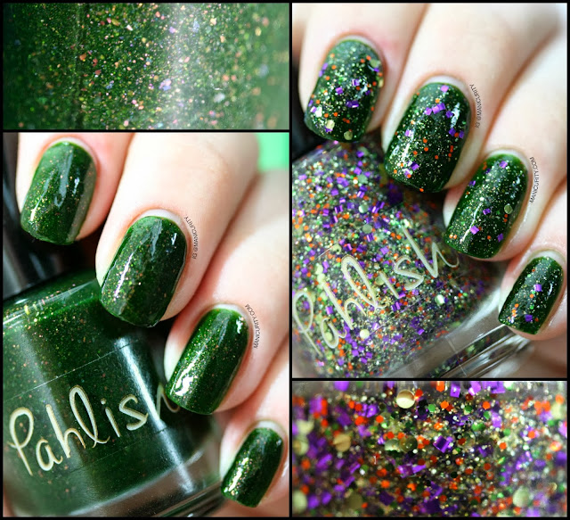Manicurity | Pahlish Fall 2013 Dark Carnival Duo: Tom Fury and The Dust Witch Swatches & Review