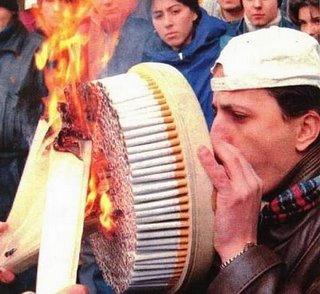 Smoking wheel