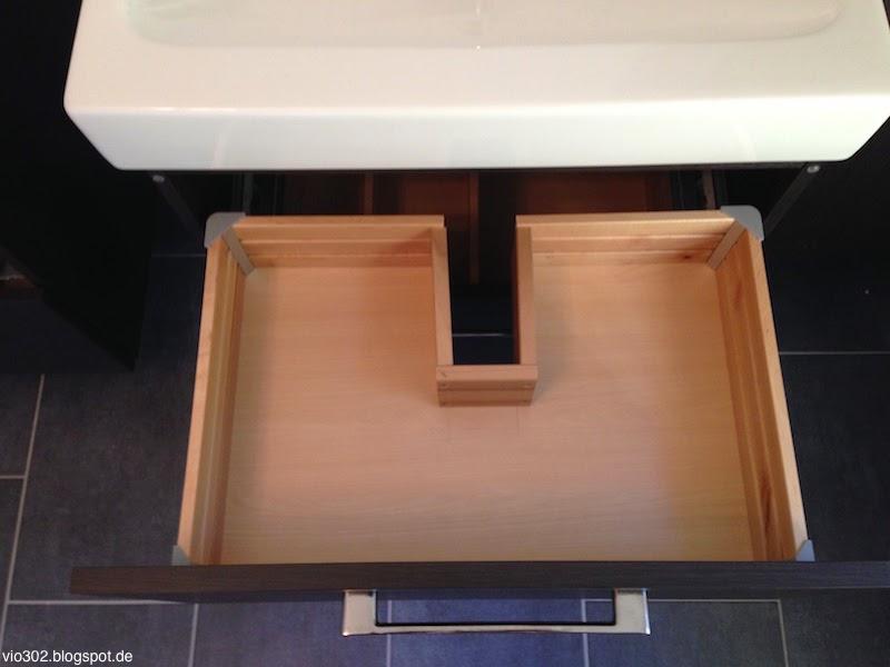 Ikea Alang Floor Lamp Nickel Plated Gray ~   Godmorgon meets Keramag iCon  Was nicht passt wird passend gemacht