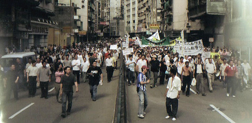 Macau: Cerca de meio milhar nas ruas em protesto pacífico no Dia Nacional da China