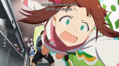 the idolmaster, idolmaster, episode 4, chihaya, chihaya kisaragi, haruka, haruka amami