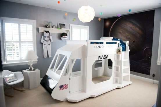 Dreams And Wishes Outer Space Kid 39 S Room Ideas