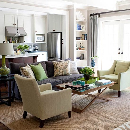 Living Room Wall Colors With Beige Furniture: Salas De Estar Pequenas: 16 Inspirações!