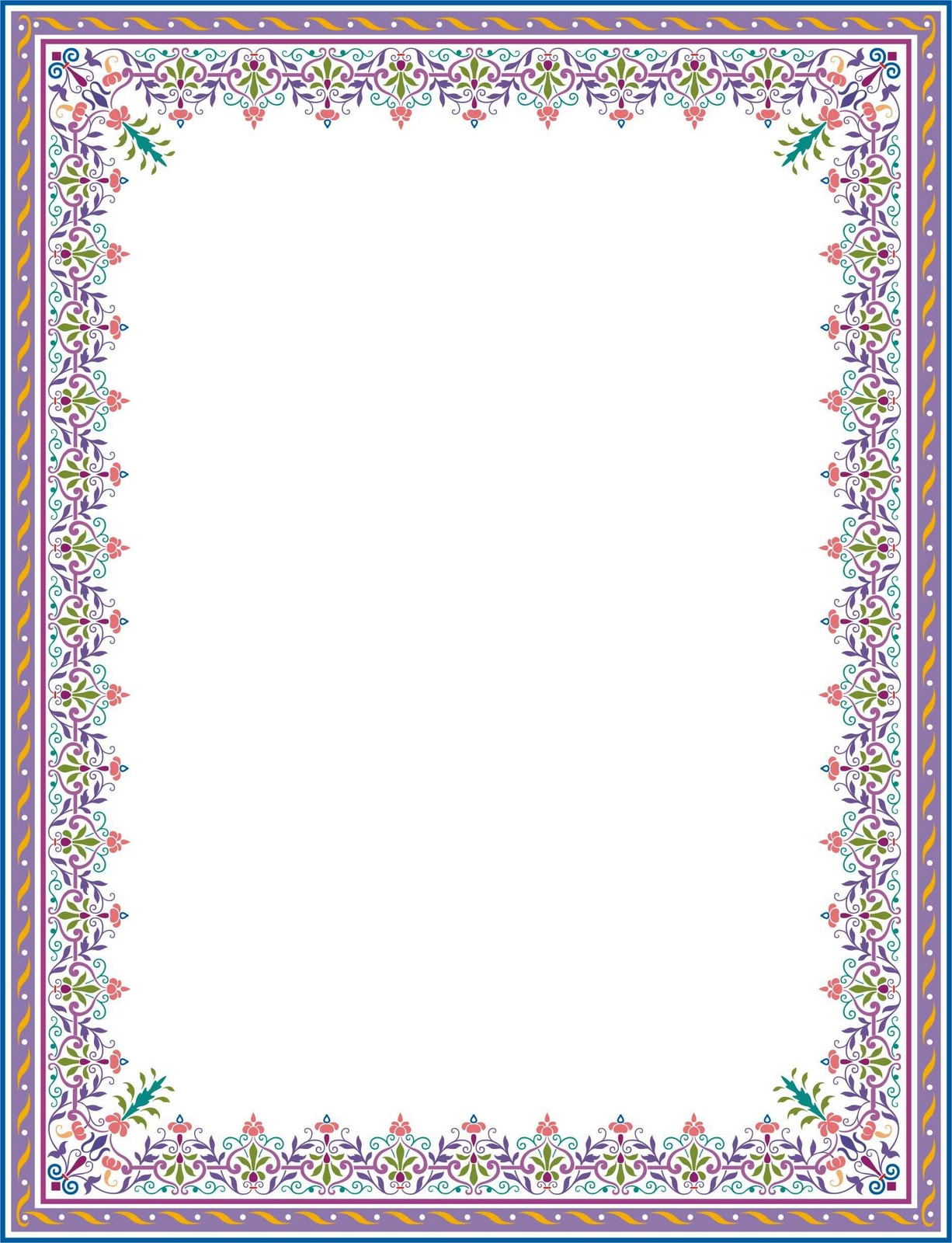 New Year Border