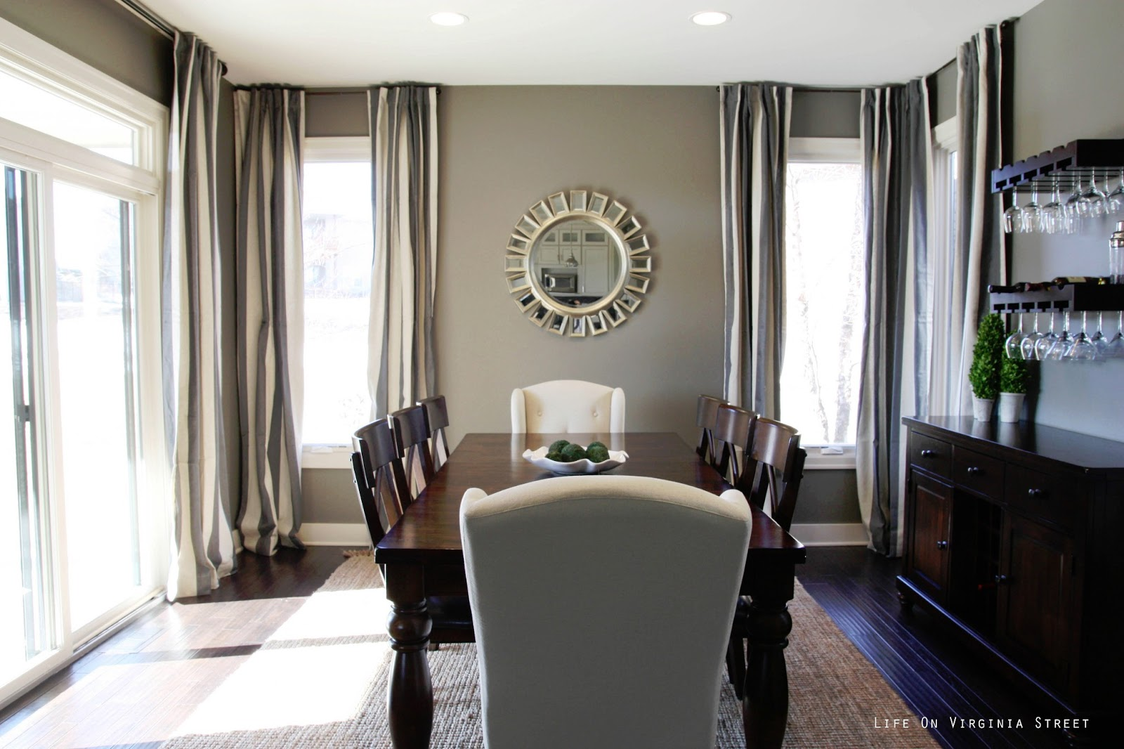 Dining room reveal life on virginia street for Dining room ideas grey