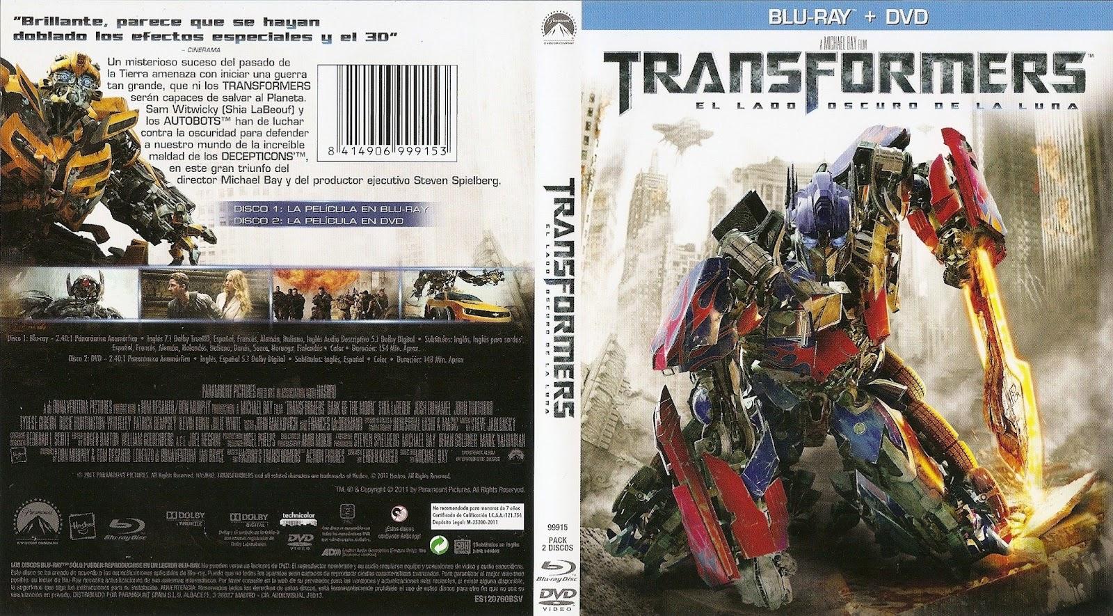 Transformers 3 el lado oscuro de la luna