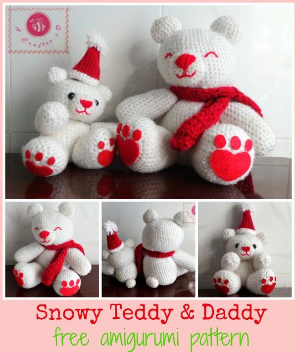 teddy bears amigurumi pattern
