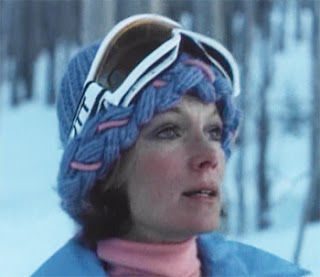 Ellen Seberg (Yvette Mimieux) is tracking the Snowbeast
