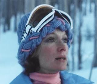 Ellen Seberg (Yvette Mimieux) is tracking the Snowbeast