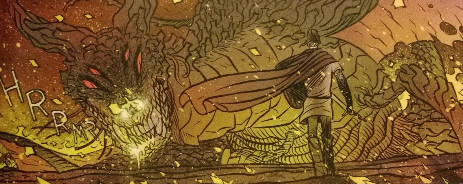 la espada y el dragón