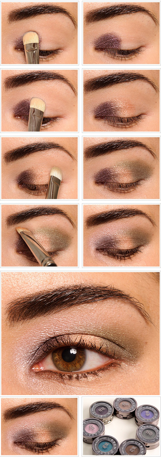 Natural Brown Eye Makeup Tutorial Cat Eye Makeup
