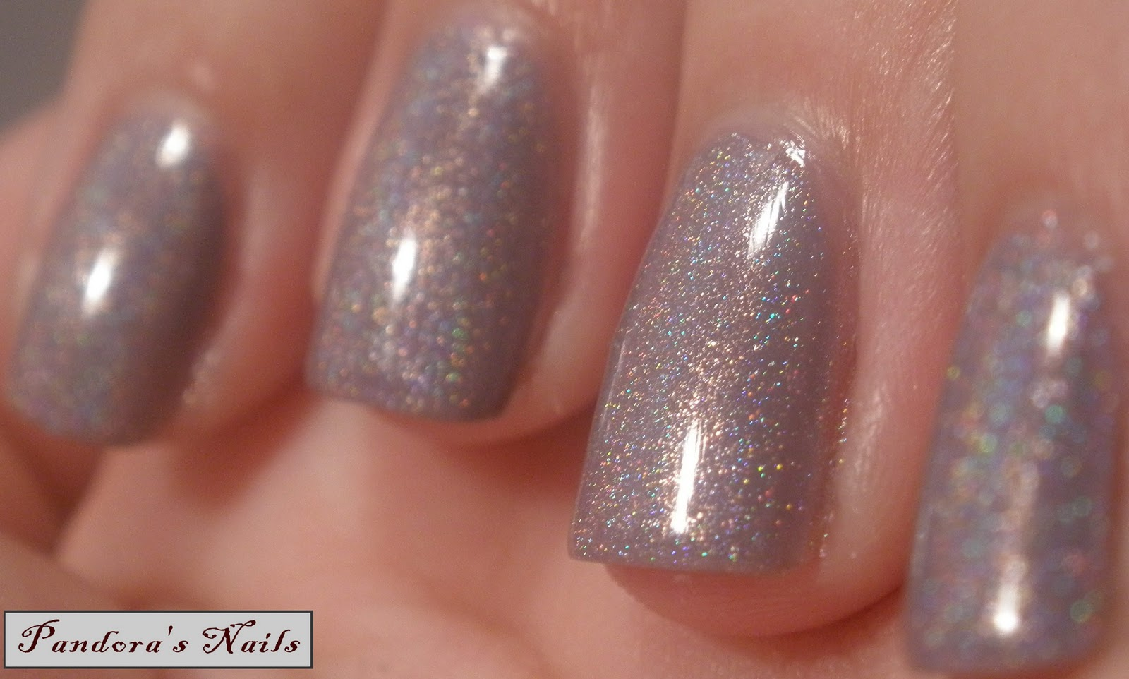 Pandora\'s Nails: Glitter Gal Frappe over a-england Guinevere