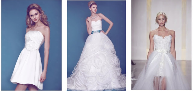 different kinds of wedding dresses